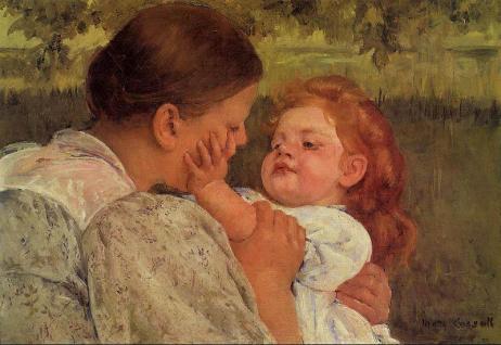 Maternal Carres, de Mary Cassatt
