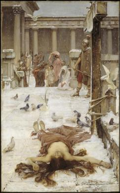 Saint Eulalia, de John William Waterhouse (1885)