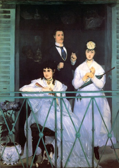 16. The Balcony - 1868-69
