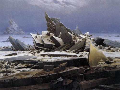 o mar de gelo caspar david friedrich