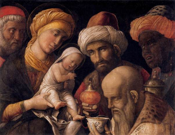 the adoration of the magi andrea mantegna