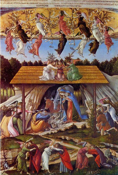 Mystic Nativity Botticelli